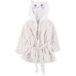 Toddler Girls Cat Hooded Robe