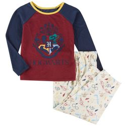 Harry Potter Big Girls Hogwarts Pajama Set