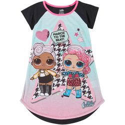 Little Girls March To The Beat Sleep Gown