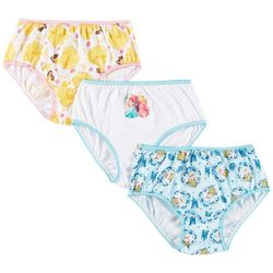 Disney Princess Girls 3-pk. Brief Panties