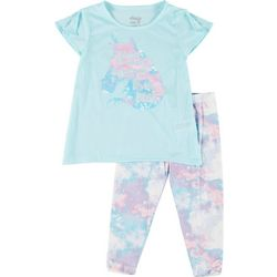 Big Girls 2-pc. Unicorn Capri Leggings Set