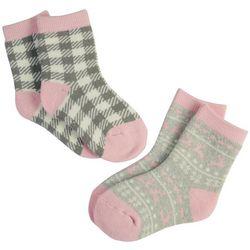 Capelli Girls 2-pk. Fair Isle Socks