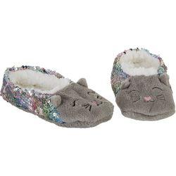 Capelli Girls Kitty Slippers