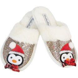 Mushmellow by Olivia Miller Girls Penguin Slippers