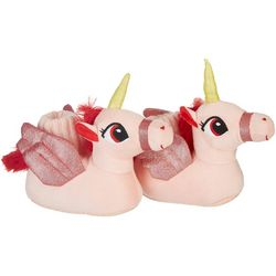 Mushmellow by Olivia Miller Girls Unicorn Slippers
