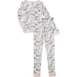Limited Too Big Girls 2-pc. Cat Napping Pajama Pants Set