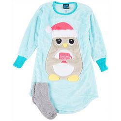 Little Girls Penguin Nightgown