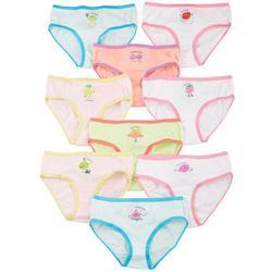 Girl Big Girls 9-pk. Week Fruit Brief Panties