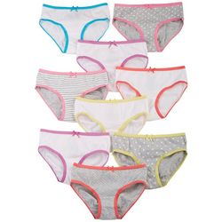 Girl Big Girls 9-pk. Brief Panties