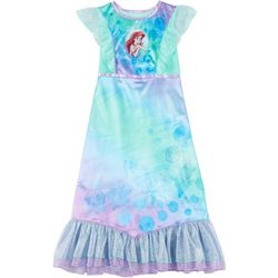 Little Girls Little Mermaid Glitter Gown
