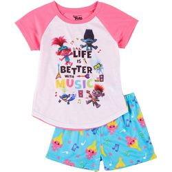 Trolls Big Girls 2 -pc. Graphic Pajama Set