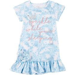 Young Hearts Little Girls 2-Pc. Sleep Gown & Scrunchie