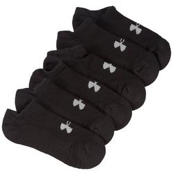 Boys 6-pk. Solid No Show Socks