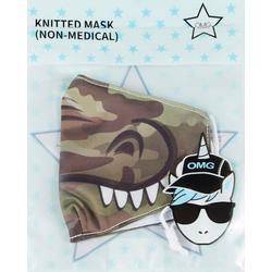 OMG Boys Gator Face Masks
