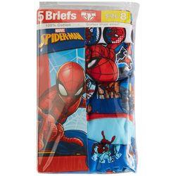 Spider-Man Little Boys 5-pk. Character Print Briefs
