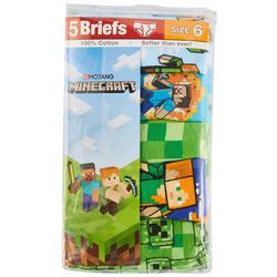 Little Boys 5-pk. Character Print Briefs