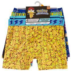 Pokemon Big Boys 4-pk. Altheltic Boxer Briefs