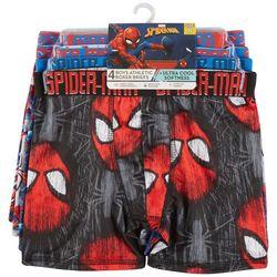 Spider-Man Big Boys 4-pk. Atheltic Boxer Briefs