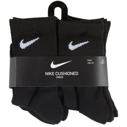 Nike Boys 6-pk. Cushioned Crew Socks