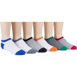 Boys 6-pk. Owen No Show Socks