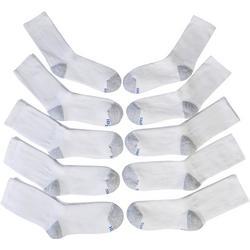 Boys 10-pk. Comfort Blend Crew Socks