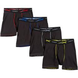 Boys 4-pk. X-Temp Performance Stretch Boxer Briefs