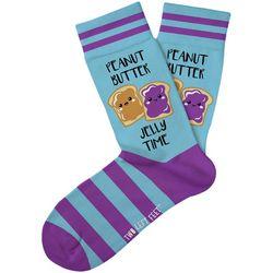 Two Left Feet PBF Time Socks