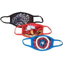 Marvel Boys 3-pk. Face Masks
