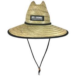 Boys Shark Print Lifeguard Straw Hat