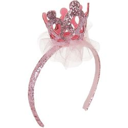 Nicole Miller New York Girls Glitter Crown Headband