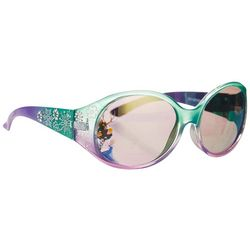 Disney Frozen Girls Snowflake Oval Sunglasses