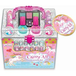 Hot Focus Carry All Unicorn Cosmetic Set