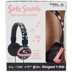 Kids Unicorn Graphic Print Headphones