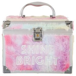 Make It Real! Fuzzy Shine Bright Train Case
