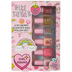 Girls 6-pc. Scented Nail Polish Set