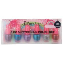 Best Accessory Group 6-pc Glitter Nail Polish Set