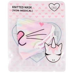 OMG Girls Kitty Camo Face Mask