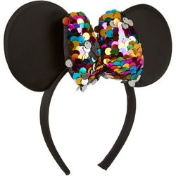 Disney Minnie Mouse Girls Sequin Bow Headband