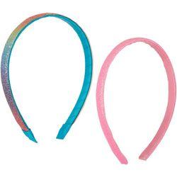 On The Verge Girls 2-pk. Glitter Headbands