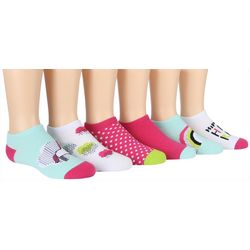 Stride Rite Girls 6-pk. Unicorn No Show Socks