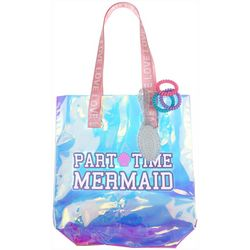 Capelli Part Time Mermaid Tote & Scrunchies Set