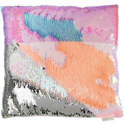 Capelli Girls Flip Sequin Accent Pillow