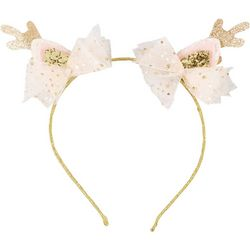 Girls Reindeer Headband