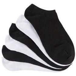 Little Girls 6-pk. Solid No Show Socks