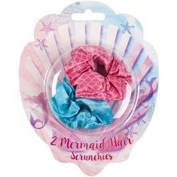 Tri-Coastal 2 Mermaid Hair Scrunchies