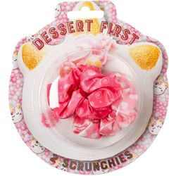 Tri-Coastal 2-pc. Dessert First Hair Scrunchies
