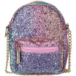 Olivia Miller Girls Metallic Crossbody Handbag