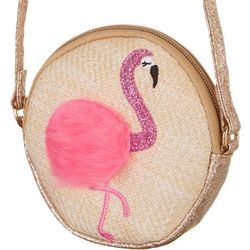 Olivia Miller Girls Flamingo Handbag