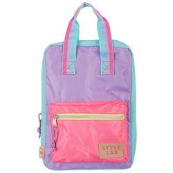 Fashion Angles Girls Colorblock Mini Backpack