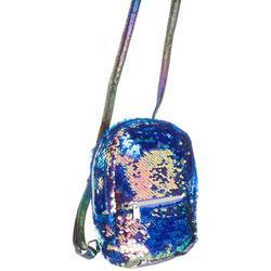 Girls Sequin Velvet Micro Mini Backpack